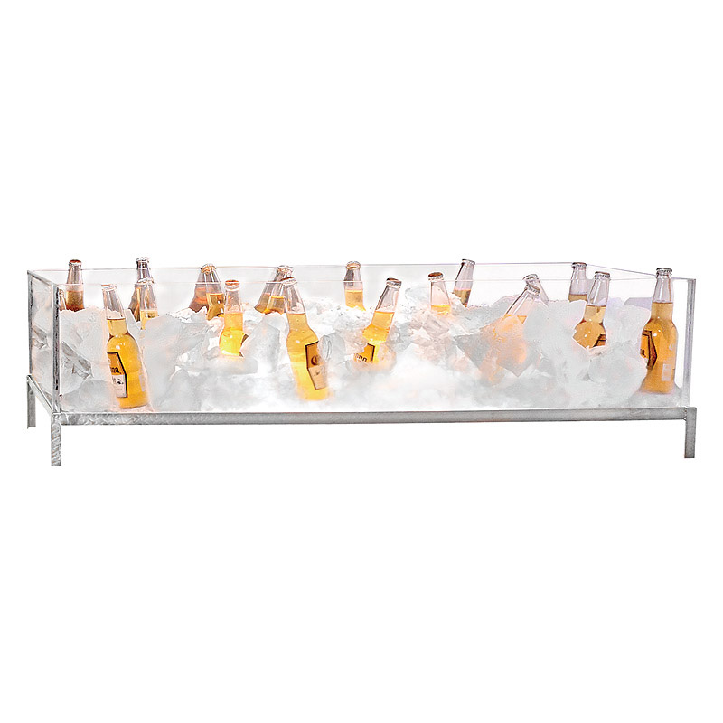 Image used to show beer display set up, not the small acrylic